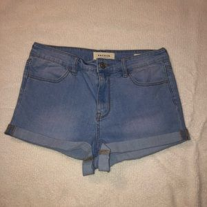 PacSun high rise super stretch shortie